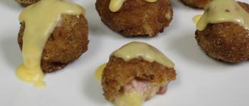 Golden Ham Croquettes