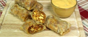 Chorizo Breakfast Eggrolls